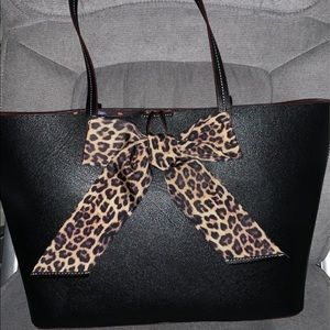 Betsy Johnson Black Tote